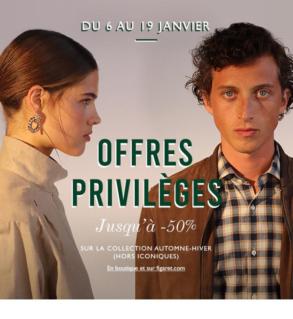 Offres privilèges