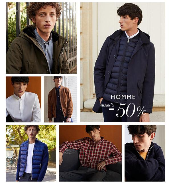 Chemise Homme : jusqu'à -50%