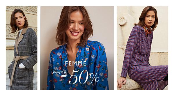 Chemise Femme : jusqu'à -50%